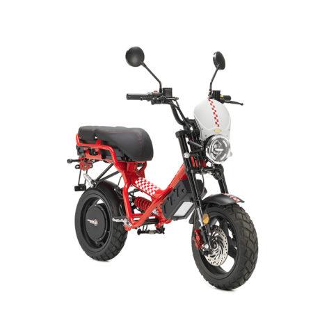 Riders Vision scooter Garelli Ciclone Passion