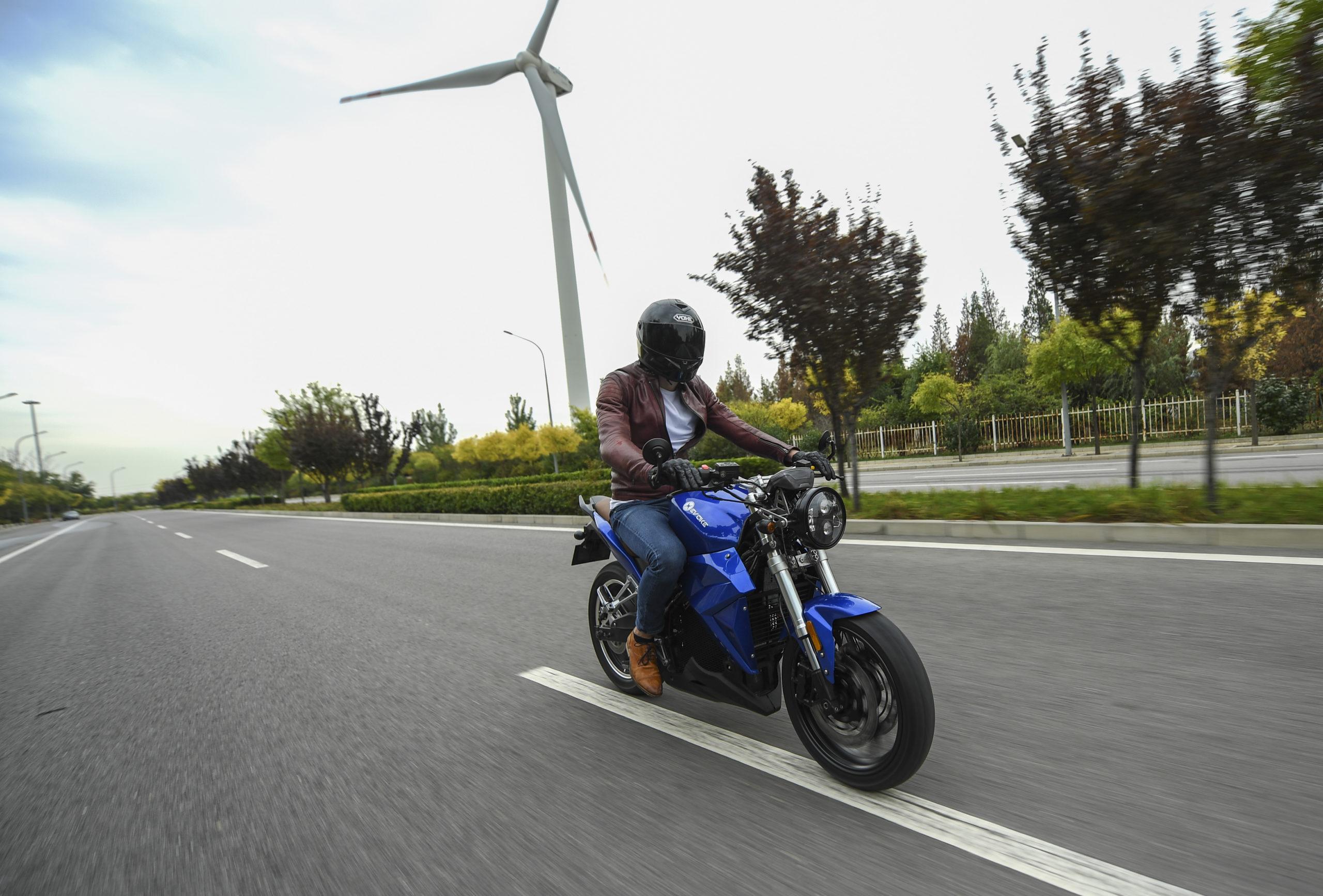 Riders Vision - Evoke Electric