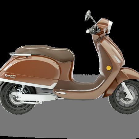 Riders Vision Scooter Kumpan 1954Ri bruin motor