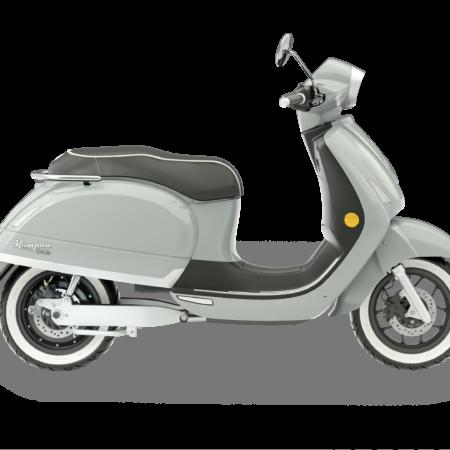 Riders Vision Scooter Kumpan 54 grijs zwart motor