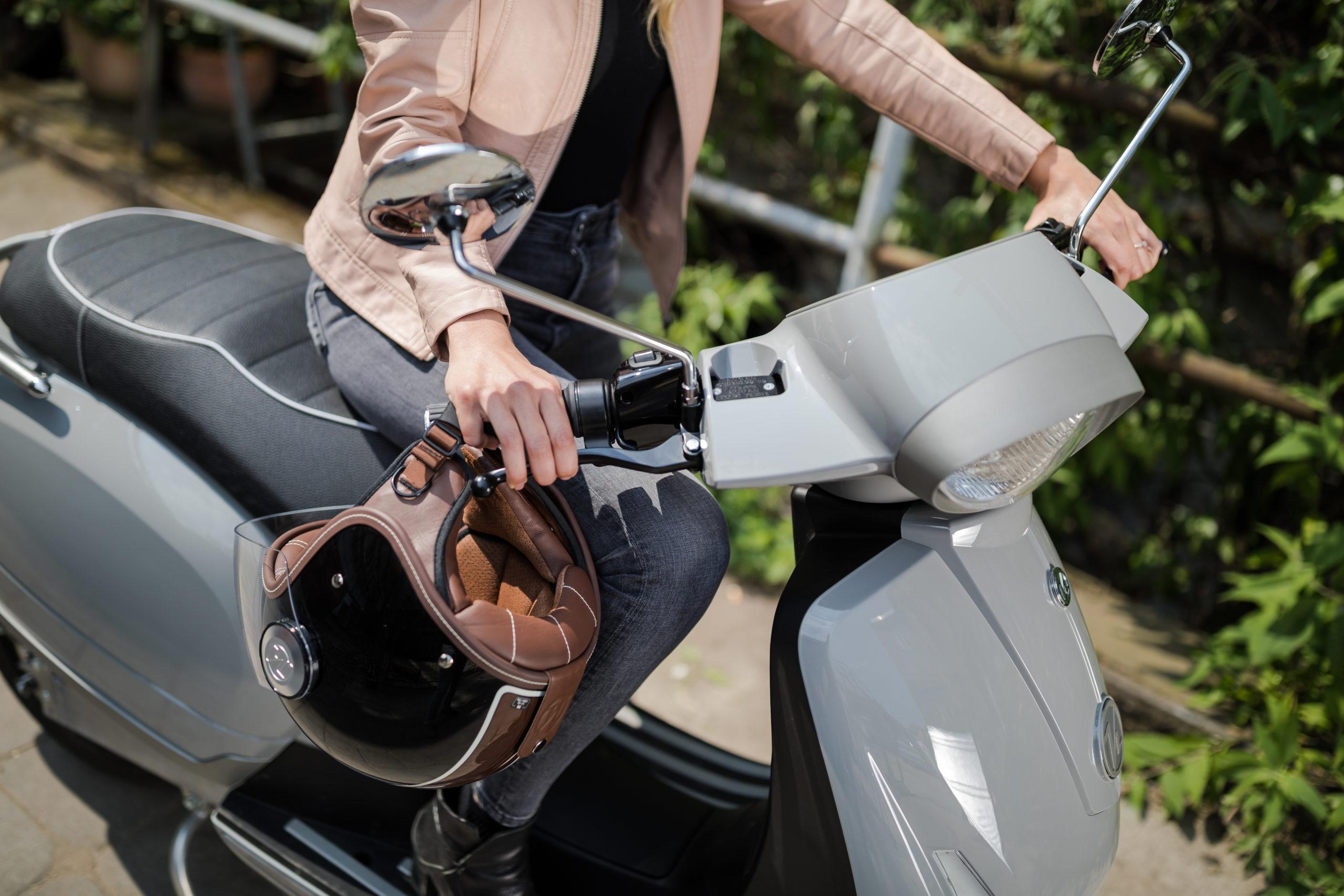 Elektrische deelscooter