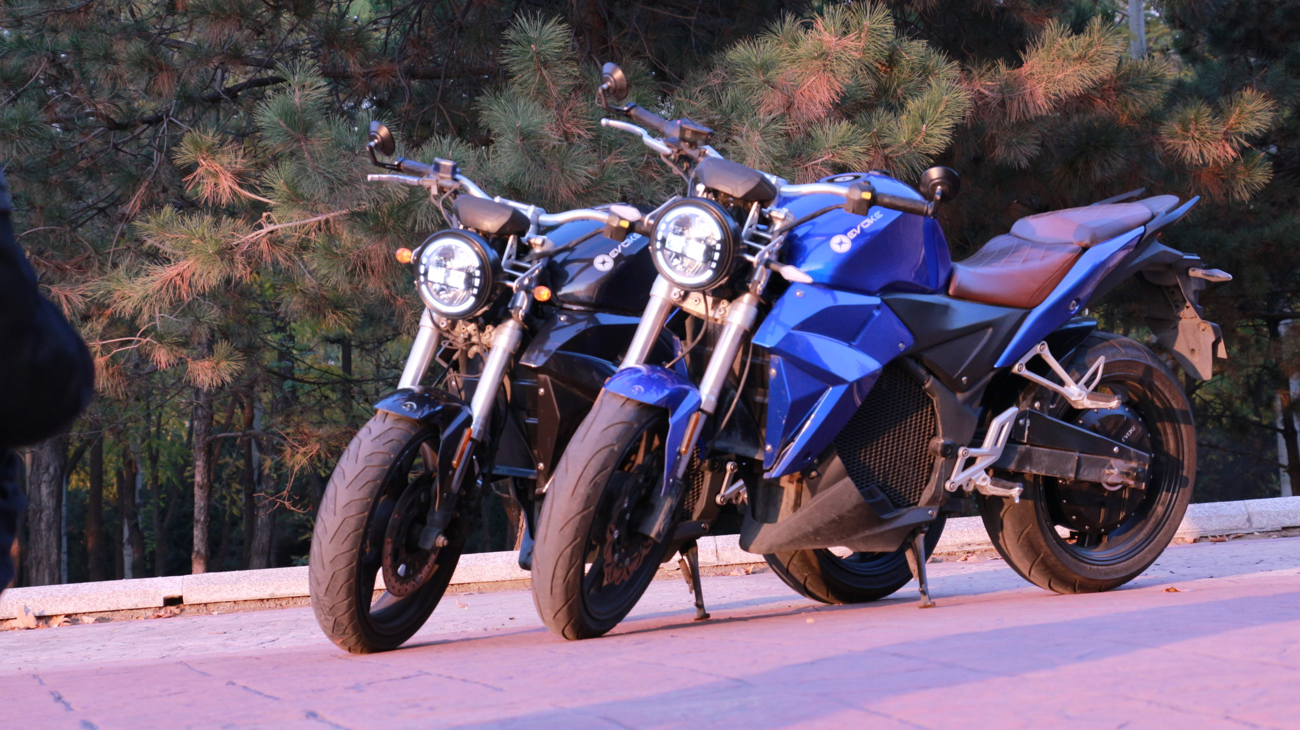 Evoke Electric Motorcycles header