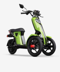 iTango groen elektrische scooters 2 voorwielen